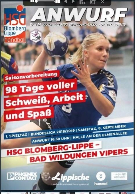 HSG Blomberg-Lippe, Handball Bundesliga Frauen.