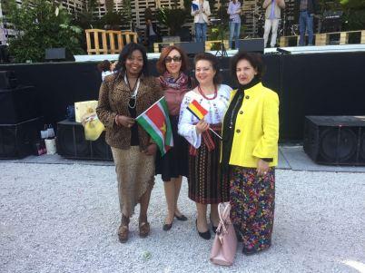 Marcia Sedoc2018 Gedelegeerde in Italie voor landen Zuid Amerika