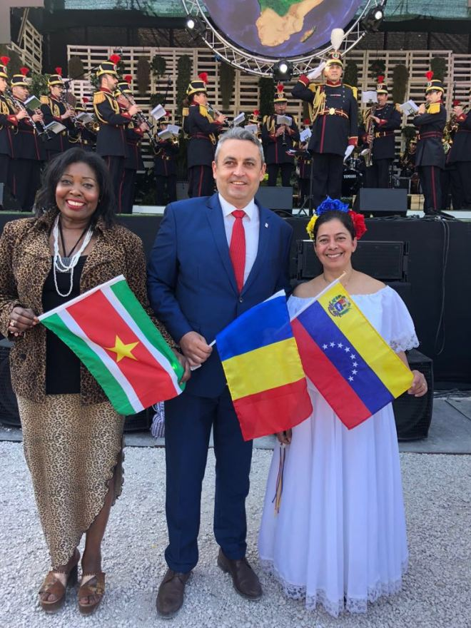 Marcia Sedoc2018 Gedelegeerde in Italie voor landen Zuid Amerika2