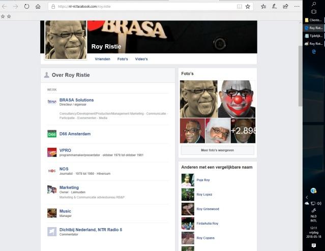 Roy Ristie PolitiekOndernemerMedia3