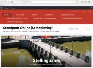 Standpunt Online. Website HGandFri2018a